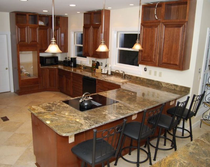 Netuno Bordeaux Granite Top